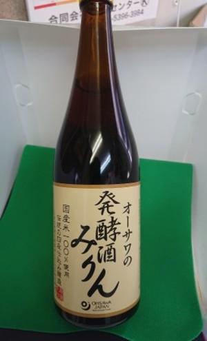 オーサワの発酵酒みりん 720mL